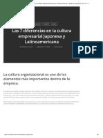Las 7 diferencias en la cultura empresarial Japonesa y Latinoamericana – Nambei Connect Ltd. 南米コネクト