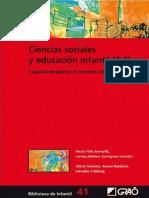 Ciencias sociales y educación infantil (3-6) - Gloria Arbonés Villaverde (1).pdf