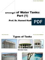 design of rect water tank