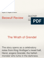 Presentation - English 12 - Beowulf Review - 20190204