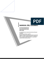Manual Usuario Tv Lg m1962d m2062d m2262d m2362d m2762d