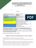 GUIA 3 REPRESENTACION GRAFICA DE LOS NUMEROS ENTEROS SEXTO  GRADO  PER. 2.pdf