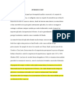 DESARROLLO DE LA POLITICA ARANCELARIA
