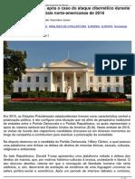 Relacoes Russia-EUA apos o caso do ataque cibernetico durante as eleicoes presidenciais norte americanas de 2016 16.01.2017