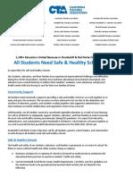 Humboldt and Del Norte Students Deserve Healthy Safe Schools Open Letter
