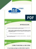 EXPOSICION ISO 27001 AUDITORIA