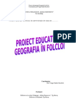 Proiect Educational