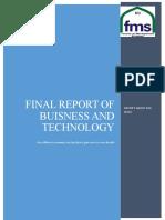 REPORT OF BIG DATA