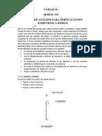 UNIDAD II-SESION VII_ANALISIS DE EDIFICIOS SOMETIDOS A SISMO
