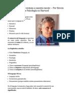 Dokumen.site Analisis y Estudio de Libros La Lingistica Como Ventana a Nuestra Mente Por Steven Pinker Profesor de Psicologia en Harvard