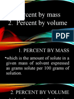 2 PERCENT BY MASS