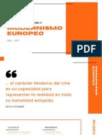 HCM II_02_Modernismo Europeo