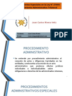 CLASE_13_PROCEDIMIENTOS ESPECIALES_TRILATERAL y FISCALIZACION