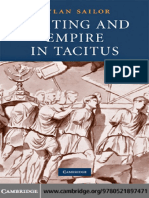 Writing and Empire in Tacitus - Dylan Sailor (Cambridge)