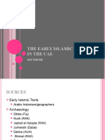 The Early Islamic Period in the UAE