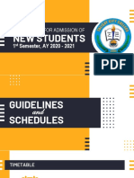 Enrolment Guidelines (1st Sem, AY 2020 - 2021)