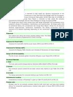 Design basis report_draft