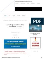 STCW QUESTIONS AND ANSWERS -2-ETO - Electro Technical Officer