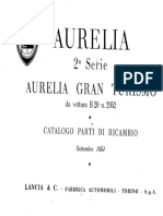 Lancia Aurelia B12 B20 1954 Workshop Manual