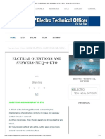 ELCTRIAL QUESTIONS AND ANSWERS-MCQ-6-ETO - Electro Technical Officer