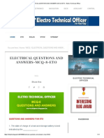 ELECTRICAL QUESTIONS AND ANSWERS-MCQ-8-ETO - Electro Technical Officer