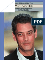 Paul Auster (Bloom's Modern Critical Views)