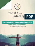 Programa Detalle Ruta Del Liderazgo para Mujeres -  Enero 2021