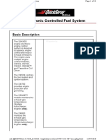 Electronic Controlled Fuel System