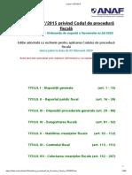 Legea nr.207_2015 codul de procedura fiscala