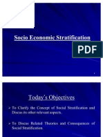 Socio Economic Stratification