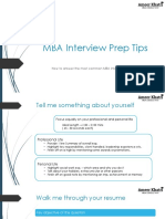 Interview Prep Tips