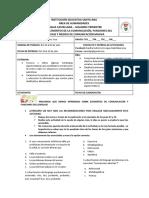 2° Trimestre - Guía #3 - Lengua Castellana - 703 a 706 - Sandra Gutiérrez