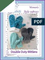 Oakhiti+2981017+Women's+Double+Duty+Mittens
