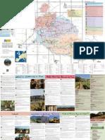 Carte circuits vélo du département de Vaucluse