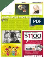 Andrés Casciani - Siglo 21 No. 558 - enero 13 al 19 - 2011