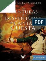 Las aventuras y desventuras del capitan Cuesta - Luis de la Luna Valero