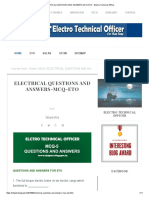 ELECTRICAL QUESTIONS AND ANSWERS-MCQ-ETO - Electro Technical Officer