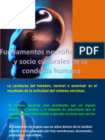 Fundamentos neurofisiológicos y socioculturales de la conducta humana