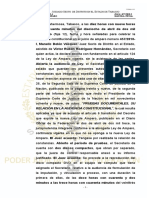 AMPARO PRISIÓN PREVENTIVA Y ACTOS DE AUDIENCIA INICIAL