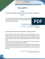 EDES- Taller I- Clase 2