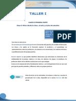 EDES- Taller I- Clase 3