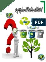 afiche sobre el medio ambiente