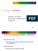 Ecommerce Business Model Concepts (Chapter 2)