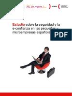Estudio sobre la Seguridad y la e-Confianza en las Pequenas y Micro-Empresas españolas - INTECO