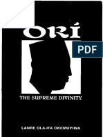 Ori The Supreme Divinity