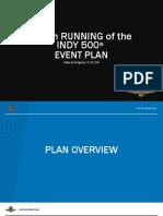 Indianapolis 500 COVID-19 plan