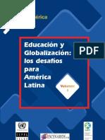LIBRO EDUCACION Y GLOBALIZACION ANALISIS AMERICA LATINA