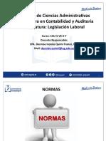 Las Normas y su clasificación DIQF