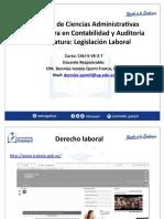 Definición del Derecho Laboral y principios de la legislación laboral DIQF