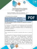 Guia de actividades y Rúbrica de evaluación - Unidad 3 - Caso 4 - Verificación cumplimiento Normatividad Farmacéutica